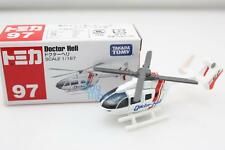 Tomica Takara Tomy #97 Doctor Medical Heli Diecast Toy car helicopter scale1/167