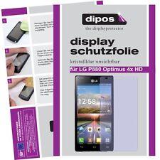 2x LG P880 Optimus 4X HD Schutzfolie klar Displayschutzfolie Folie unsichtbar