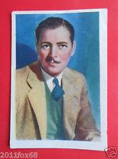 actors acteurs figurine cards nestle stars of the silver screen #6 ronald colman