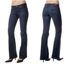 AG ADRIANO GOLDSCHMIED JEANS CLUB Super soft LIGHTWEIGHT STRETCH flare $198 27