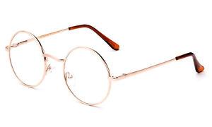 Classic Reading Glasses Aviator Retro Round Spring Hinged John Lennon Vintage