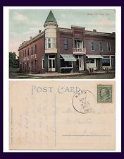 INDIANA KNOX HOTEL FITZ POSTED 1909 TO MISS CLARA GOULA OF WALKERTON, INDIANA
