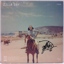"ZELLA DAY 2014 SWEET OPHELIA Autographed CLEAR 45 Single Signed 7"" LTD. ED"