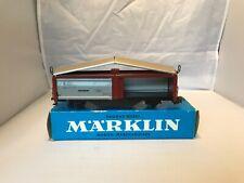 MARKLIN HO 4633 SLIDING ROOF AND DOOR WAGON GUTERWAGEN  ORIGINAL BOX