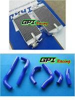 HONDA CRF450R CRF450 CRF 450R 2002 2003 2004 02 03 04 Aluminum radiator + hose
