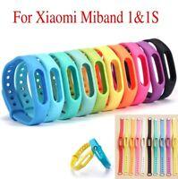 Ersatzband Silikon für MiBand 1S Xiaomi Armband Mi Band 5 Farben