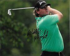 WILLIAM McGIRT HAND SIGNED PGA GOLF 8X10 PHOTO W/COA
