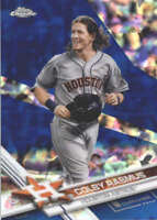 COLBY RASMUS 2017 TOPPS CHROME SAPPHIRE EDITION #196 ONLY 250 MADE