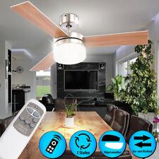Decken Ventilator 105 cm mit FERNBEDIENUNG Beleuchtung Leiser Klima Wind Lüfter