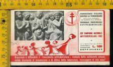 Libretto erinnofilo antitubercolare tv 163