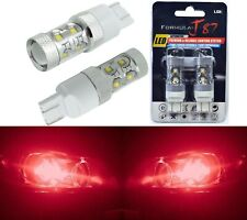 LED Light 50W 7443 Red Two Bulbs Front Turn Signal Replacement Upgrade Show Use