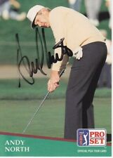 Andy North Signed - Autographed Pro Set Golf Trading Card with Certificate