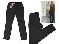 Damenhose Hose Stretchhose Winterhose Jeansart Gr. 40 M antrazit NEU