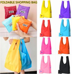 Waterproof Folding Shoulder Beach Shopping Handbag Shopper Reuse Tote Travel Bag