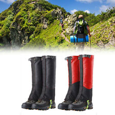 Mountain Hiking Boot Gaiters Waterproof Snow Snake High Leg Shoes Cover SL