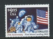 STATI UNITI 1994 25th Anniversary of Moon SBARCO $9.95 intatto COME NUOVO,