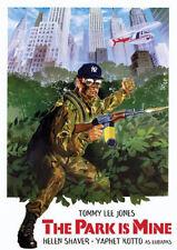 THE PARK IS MINE (Tommy Lee Jones) 1985- DVD - Region 1 - Like New