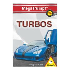 Piatnik 424717 - MegaTrumpf® Quartett Turbos, 32 Karten