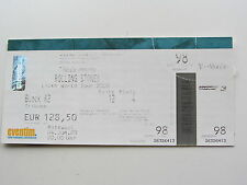 THE ROLLING STONES TICKET  4TH JUNE 2003,  OLYMPIAHALLE MUNICH, GERMANY