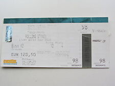 THE ROLLING STONES TICKET 4 juin 2003, OLYMPIAHALLE Munich, Allemagne
