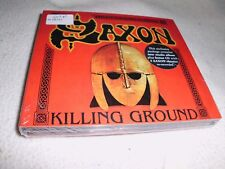 Saxon -  Killing Ground - Limited Edition, Doppel  CD - OVP