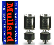 Matched pair Reissue Mullard 6L6GC fo JTM-45,Fender Twin etc-post or shop pickup