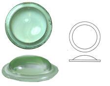 Bleiverglasungstein Bullauge glatt, 1 Stk., rund, Ø ca. 40 mm, h ca. 8 mm