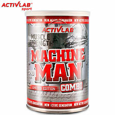 Machine Man Combo 240 Caps BCAA Creatine L-Carnitine Caffeine L-Arginine Pills