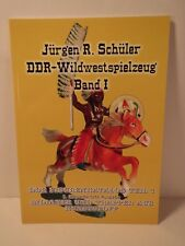 Toy soldier reference book, E. German compo figures,DDR Wildwestspielzeug Band 1