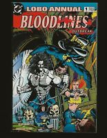 C155 Lobo Annual 1 Bloodlines Outbreak 1st Appearance of Layla LEGION ~~VF+/NM~~