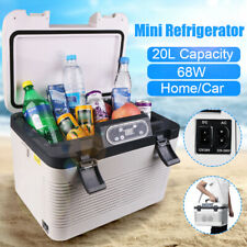 12V Portable 20L Electric Car Mini Fridge Refrigerator Cooler Warmer Travel