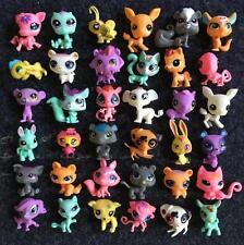 30PCS Cute Rare Littlest Pet Shop Lot Figures Collection Toy Cat Dog Loose
