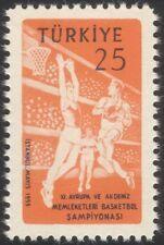Turquía campeonato europeo de baloncesto 1959/Sport/Juegos 1 V (n24440)