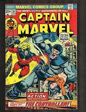 Captain Marvel # 30 ~ Thanos Cameo ~ 1974 (6.5) Wh