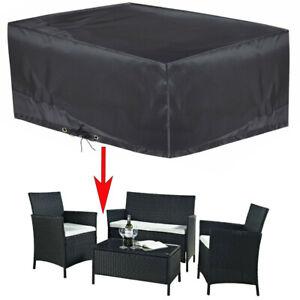 Oxford 600 Heavy Duty Waterproof Rattan Cube Cover Outdoor Garden Furniture Rain