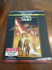 Star Wars The Force Awakens w/ Slipcover (4K + Blu-Ray + Digital)