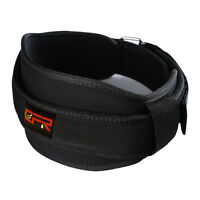 "Crossfit Unisex Weight Lifting Belt 5"" Wide Gym Belts Back Support Fitness Brace"