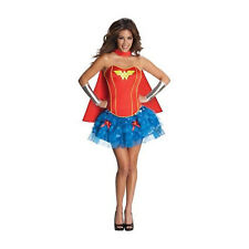 SEXY WONDER WOMAN Wonderwoman Fancy Dress Costume Size 8 to 10 Free Postage