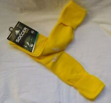 ADIDAS FORMOTION CLIMACOOL YELLOW SOCCER ELITE SOCKS, SIZE M