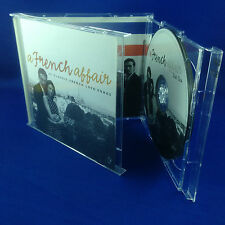 VARIOUS: A French Affair 43 Classic French Love Songs OUT OF PRINT 2001 PRESSING