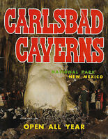 Vintage 1969, Carlsbad Caverns National Park, New Mexico; Travel Guide