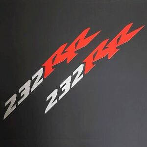 Honda Ruckus 232 cc RR sticker decal silver red oem look GY6 mod stretch Kymco