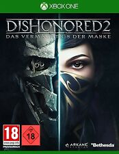 Xbox One Jeu Dishonored 2: L'héritage du masque-Day One Edition article neuf