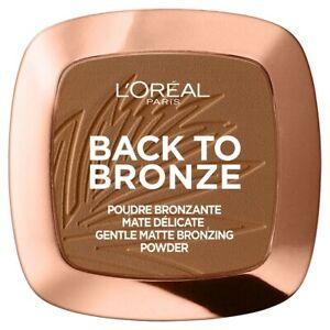 L'oreal Paris Back to Bronze Pressed Matte Powder 02 Sunkiss 9g