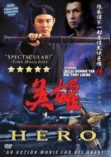 Jet Li Hero - Classic 5-Star Hong Kong Kung Fu Martial Arts Action movie Dvd