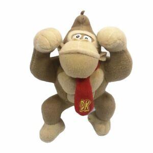 Nintendo Super Mario Bros Donkey Kong Plush Toy Stuffed 10in