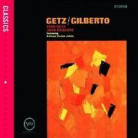 "STAN GETZ & JOAO GILBERTO ""GETZ/GILBERTO"" CD NEW!"