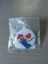 Nintendo Super Mario STREETPASS Pin - Button - Street Pass Promo
