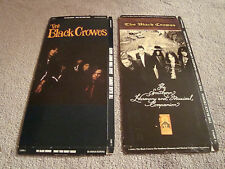 Black Crowes Lot 2 CD Long Box Only - No Disc  Shake Your Moneymaker Southern