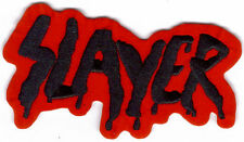 Slayer Logo 2 Embroidered Patch !